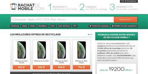 Voici le site pour recycler tous vos mobiles
