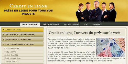 Votre partenaire crédit en ligne