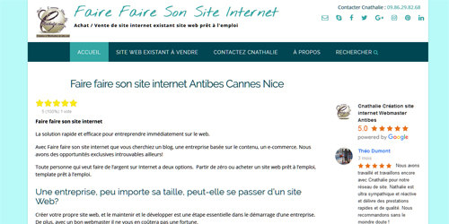 Location Site Web et Vente Site Internet