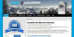 Location de matériel de ski pas cher sur internet